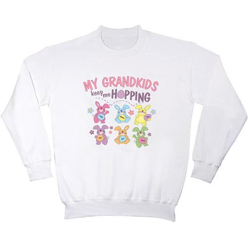 "Personalized ""Keep Me Hopping"" Women's Sweatshirt"