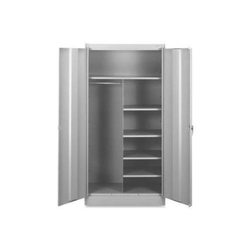 Tennsco Combination Wardrobe/Storage Cabinet TNN7214LGY
