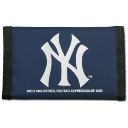 New York Yankees Nylon Trifold Wallet - image 1 of 1