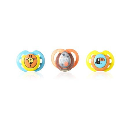 Tommee Tippee 0-6 Months Pacifier, 3 Count