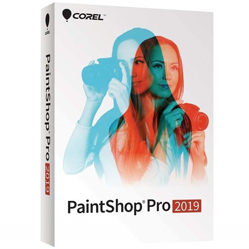 Corel PaintShop Pro 2019 - Box Pack - 1 User