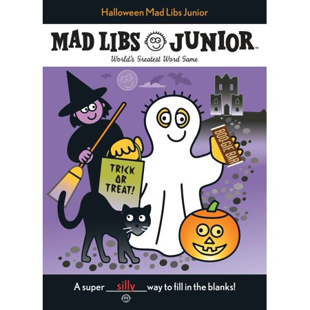 Halloween Mad Libs Junior - Halloween Mad Scientist Lab