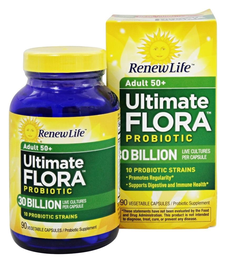 Renew Life Ultimate Flora Adult 50 Probiotic 90