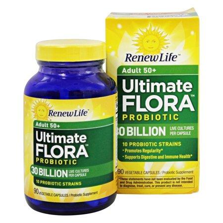 Renew Life - Ultimate Flora Adult 50+ Probiotic - 90 Vegetable Capsule(s) Formerly Senior Formula
