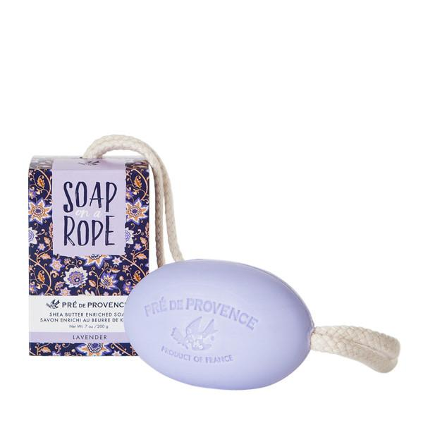 Pre de Provence Lavender Soap on a Roap 7oz