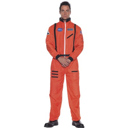Astronaut Costume NASA USA United States Commander Orange Space Moon - Sailor Moon Costume Sale