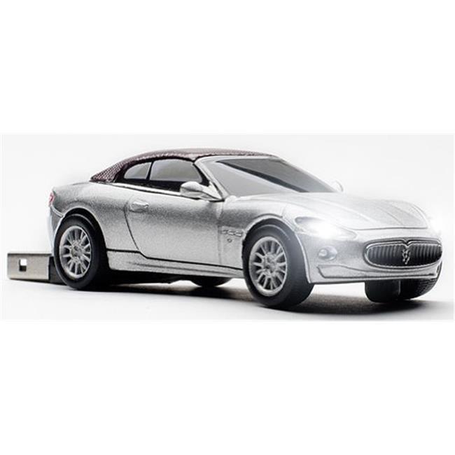 Maserati Grancabrio Silver Touring 4 GB USB 2.0 Stick