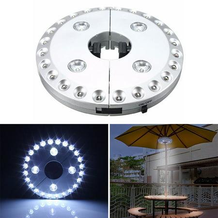 Astonishing Patio Umbrella Light 3 Level Dimming 28 Leds Outdoor Patio Umbrella Wiring 101 Hateforg