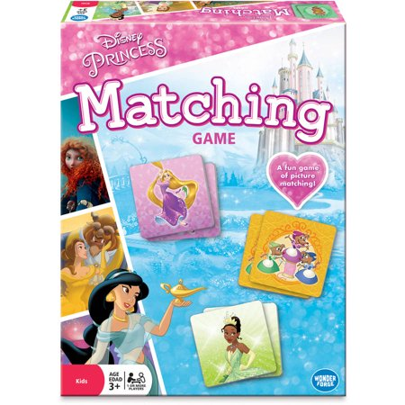 Disney Princess Preschool Matching Game, 1 or More Players, Ages 3+ - Halloween Pumpkin Matching Game