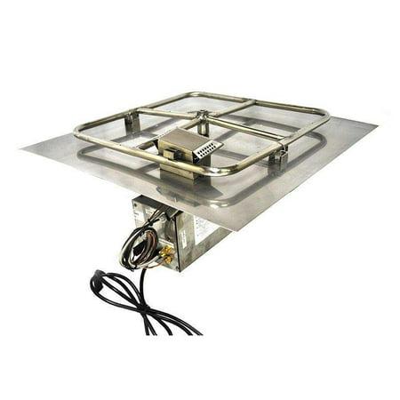 Hpc Hwi Electronic Ignition Fire Pit Kit 24 X Flat Pan Natural Gas