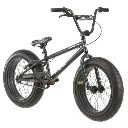 20 Mongoose Bmax All Terrain Fat Tire Mountain Bike Black Gray