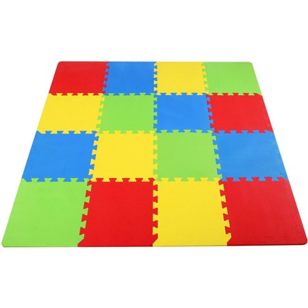 exercise piece non mat play extra kids toxic thick mats fixed children
