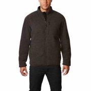 d65e05d6 32 Degrees Men's Sherpa Lined Fleece Jacket, Gray - Medium