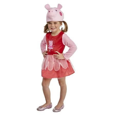 Toddler Peppa Pig Ballerina 3t 4t Halloween Dress Up Role Play