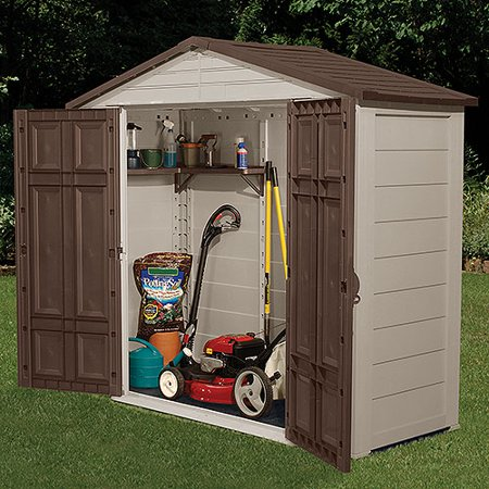 suncast 75 x 3 outdoor storage building shed walmartcom