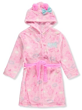 Peppa Pig Girls' Hooded Robe - pink, 2t