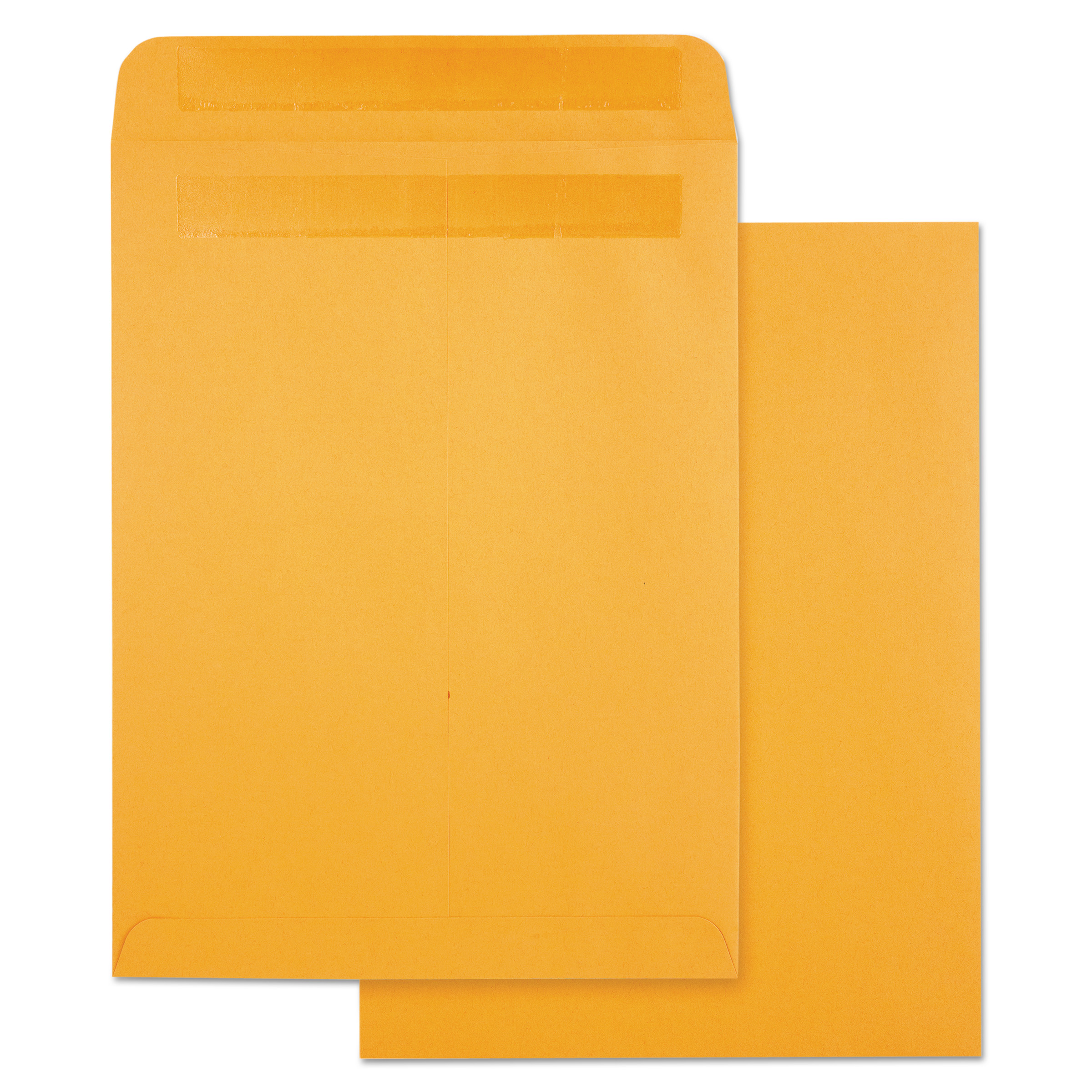 Quality Park High Bulk Self Sealing Envelopes, 9 x 12, Kraft, 100 per box -QUA43563