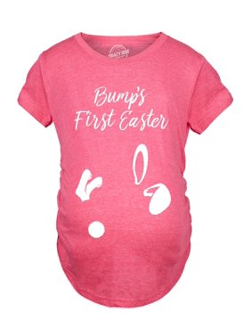 crazy dog tshirts - maternity bumps first easter tshirt adorable pregnancy pastel bunny tee