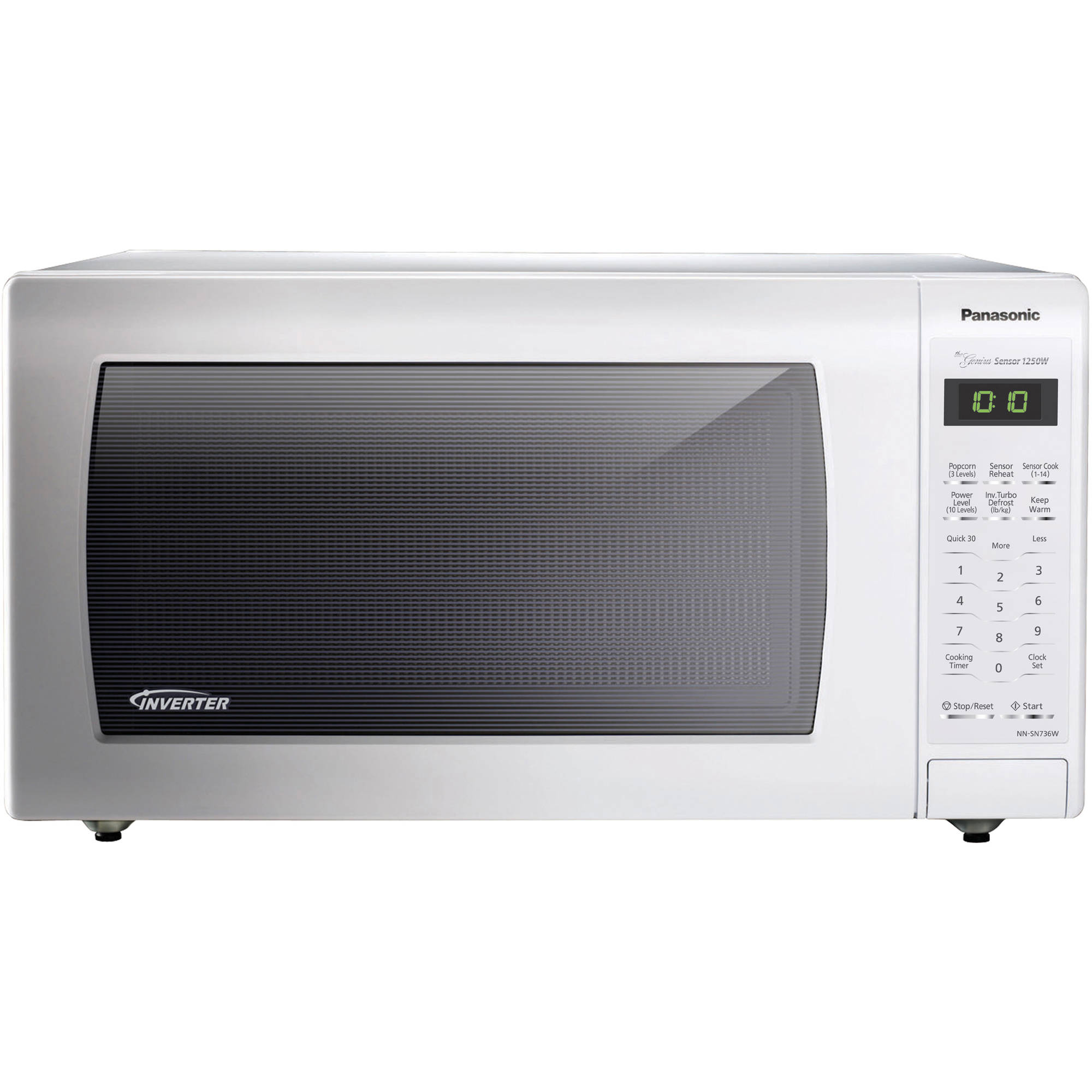 Panasonic 1.6 cu ft Microwave Oven, White