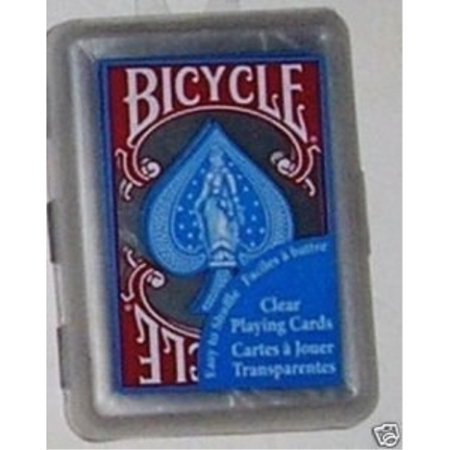 - hoyle waterproof clear playing cards