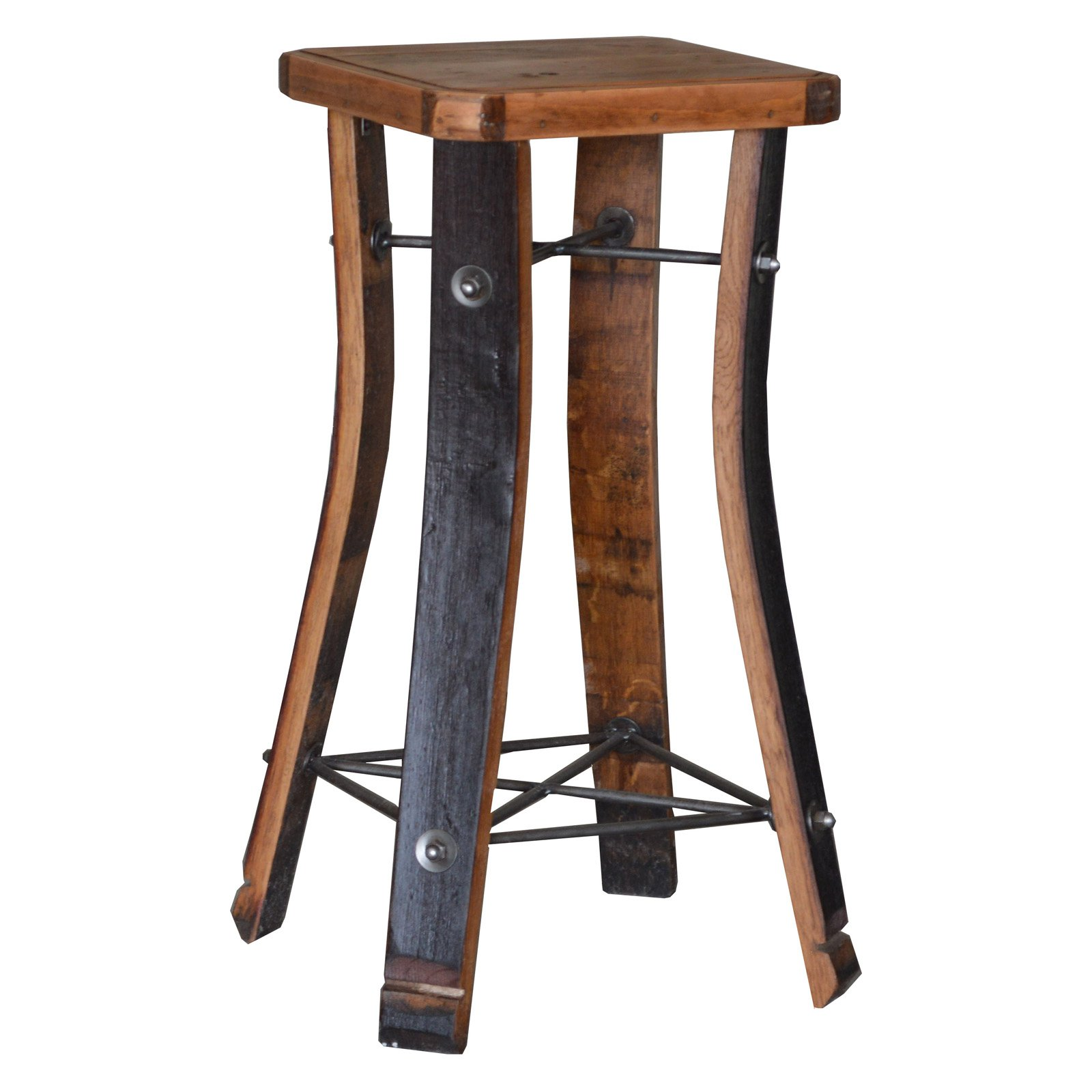 2 Day Designs Reclaimed 28 in. Napa Valley Bar Stool