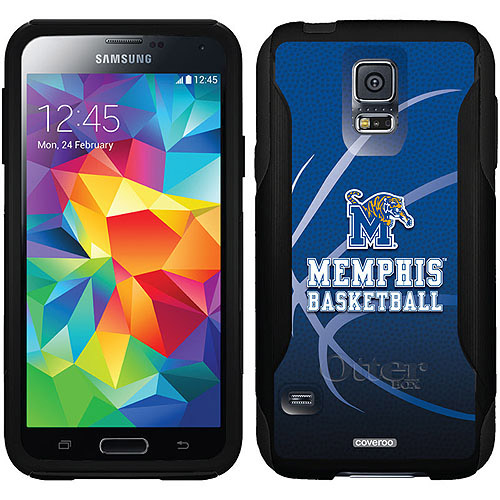 Memphis Basketball Design on OtterBox Commuter Series Case for Samsung Galaxy S5