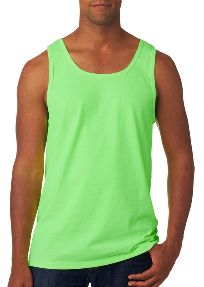 Fruit Of The Loom 39TK Adult Summer Tank Top -Gold-X-Large