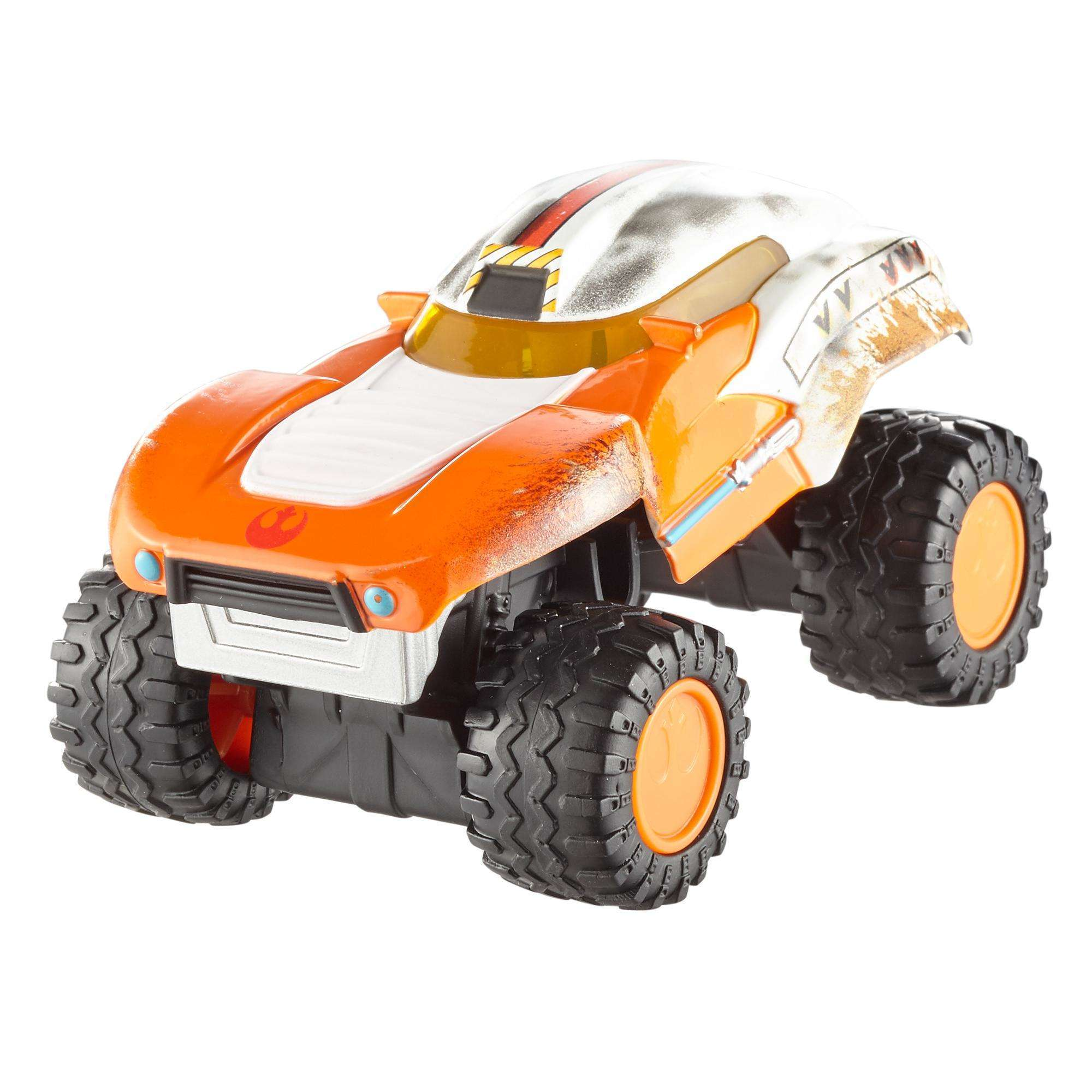 Hot Wheels Star Wars All-terrain Luke Skywalker, Vehicle