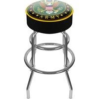 "Trademark Global US Army Symbol 31"" Padded Swivel Bar Stool"