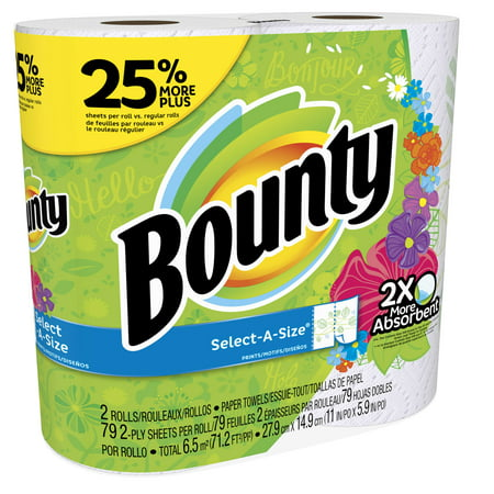 Buy Bounty® Select-A-Size™ Paper Towels, White, 8 Huge Rolls = 20 Regular Rolls at Staples' low price, or read our customer reviews to learn more dufucomekiguki.ga: $