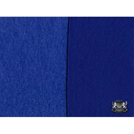 Sweatshirt Cotton Fleece Royal Blue Fabric Cotton Fleece Fabric
