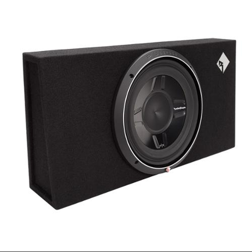 "Rockford Fosgate P3S-1X12 12"" 800W Shallow Loaded Subwoofer Sub Enclosure"