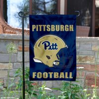 "Pittsburgh Panthers Football Helmet 13"" x 18"" College Garden Flag"