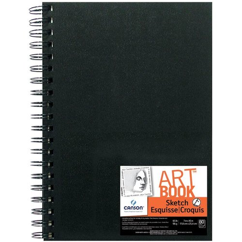"Canson® 7"" x 10"" Wirebound Sketchbook"