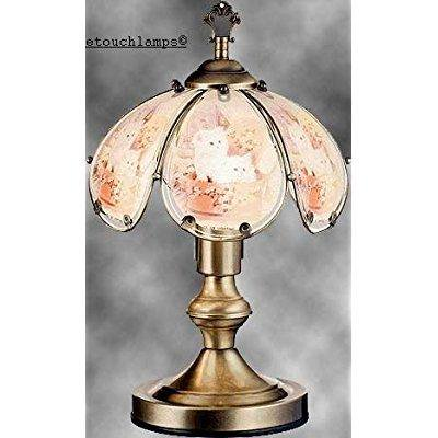 14 Inch Kittens Touch Lamp Cat