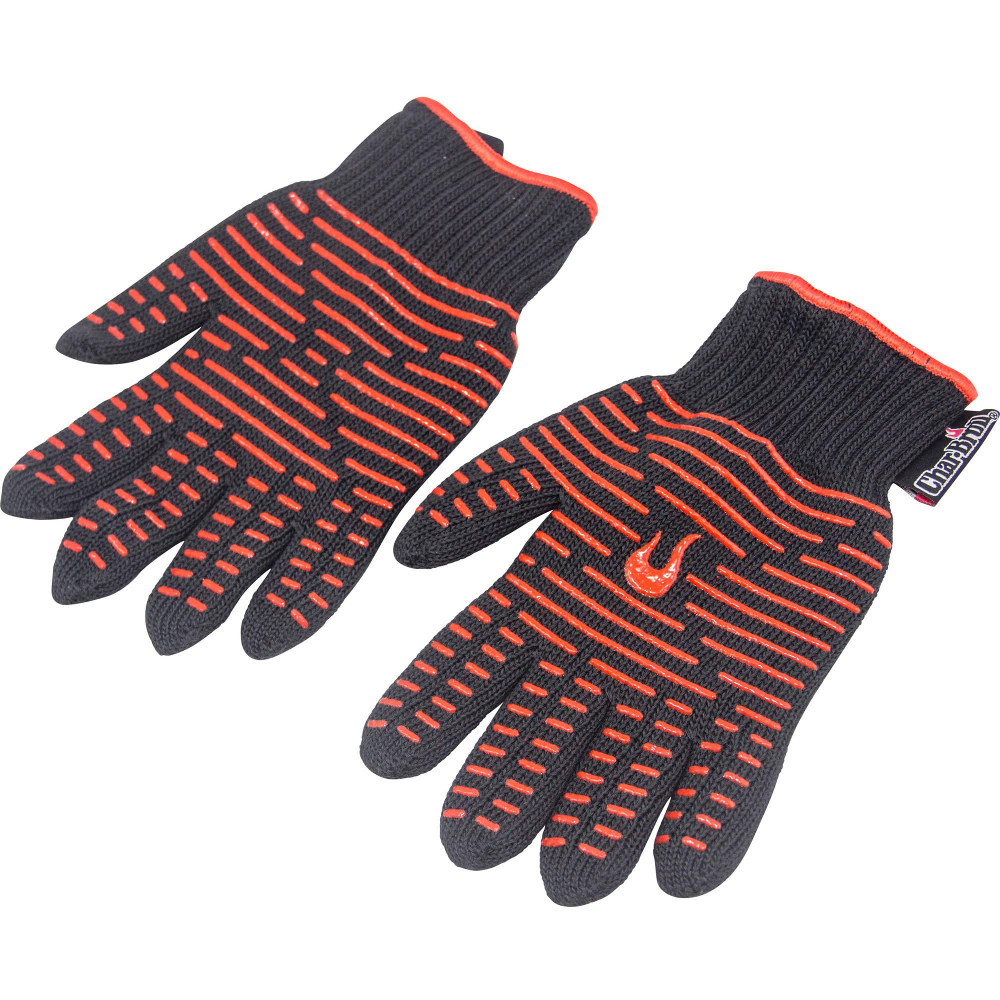 Char Broil Aramid-Blend Cotton Grilling Gloves