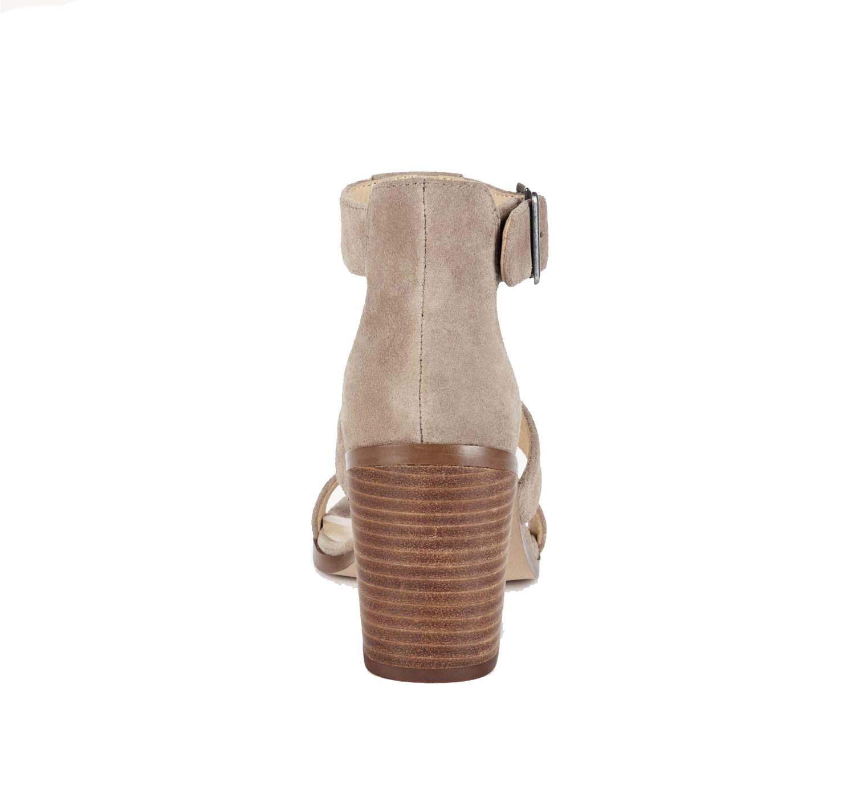 e8a784f5dcf Sole Society - Sole Society Women s Delilah Suede Fringe Block Heel Sandals-Black-11  - Walmart.com
