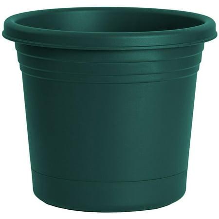 Rugg AR8-FG Planter, Green, Polyresin