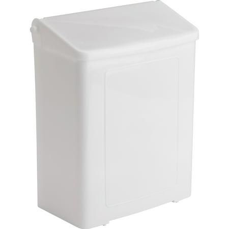 Impact Products Sanitary Napkin Disposal Unit, White