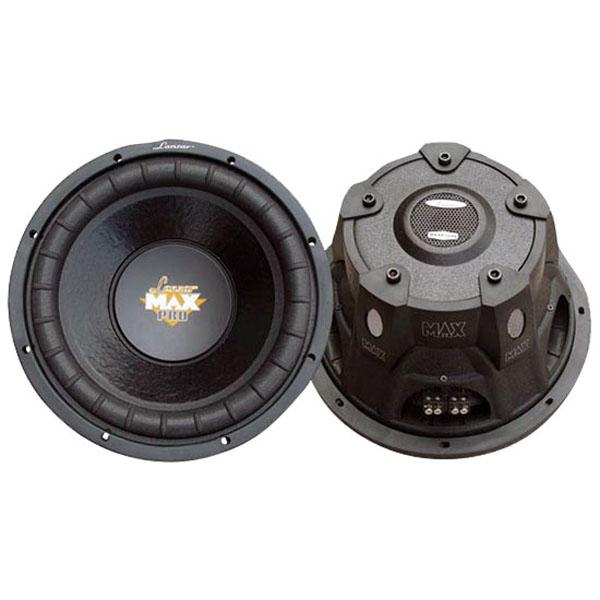 "Lanzar Max Pro 6.5"" 600 Watt Small Enclosure 4 Ohm Subwoofer"