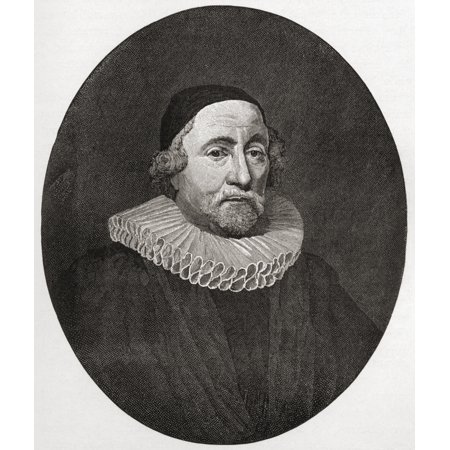 James Ussher Or Usher 1581 To 1656 Church Of Ireland Archbishop Of Armagh And Primate Of All Ireland From The Book Short History Of The English People By JR Green Published London 1893 Canvas Art - (Devon Ke Dev Mahadev All Episodes English Subtitles)