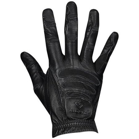 bionic glove dvnt-m-p-bk-md mens driving natural fit touch screen - balck,medium