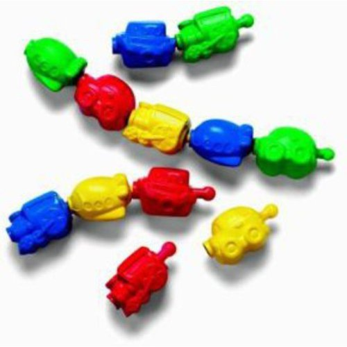 Fisher Price Snap-Lock Beads, Vehicles by Fisher-Price