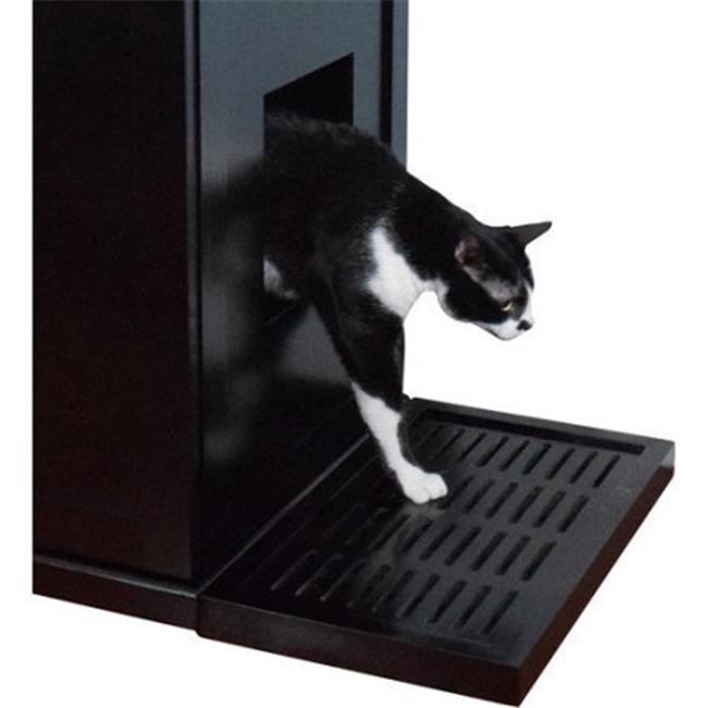 Litter Catch for the Refined Litter Box, 20 x 12 x 2 in. - Mahogany