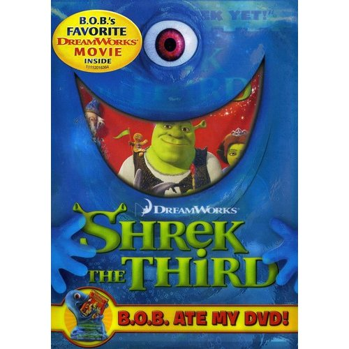 Shrek The Third (BOB Ate My DVD) (Widescreen)