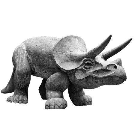 LAMINATED POSTER Horned Beast Herbivore Fossil Animal Dinosaur Poster Print 24 x 36 ()
