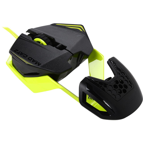 Mad Catz R.A.T.1 MCB437260006/06/1 Green 6 Buttons Wired 3500 dpi Gaming Mouse - New Open Box