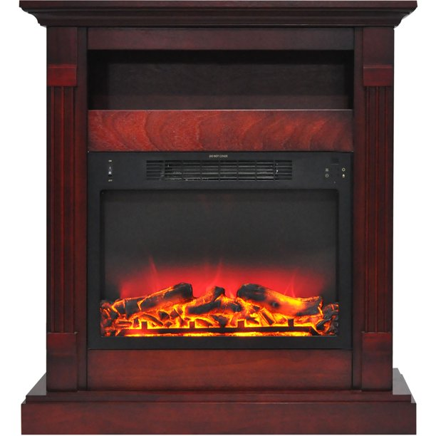 Cambridge Sienna 34 Electric Fireplace, Cozy Grate Fireplace Heater Reviews