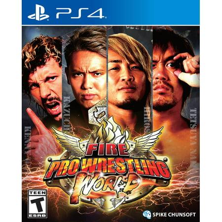 - Fire Pro Wrestling World, Spike Chunsoft, PlayStation 4, 811800030032