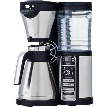 Ninja Coffee Bar with Auto IQ and Thermal Carafe - 4 Brew Types (CF085W) - Walmart.com